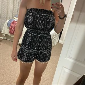 True Destiny Paisley Romper